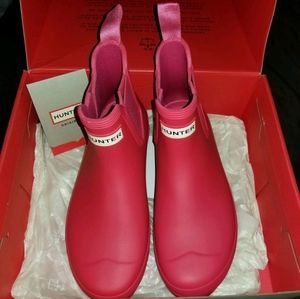 Ladies Size 7 HUNTER BOOTS CHELSEA STYLE